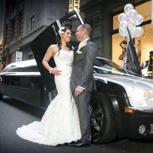 Stretch Limo Hire Melbourne Wedding 1