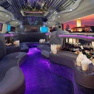 Limousine Hire Melbourne White Hummer Interior